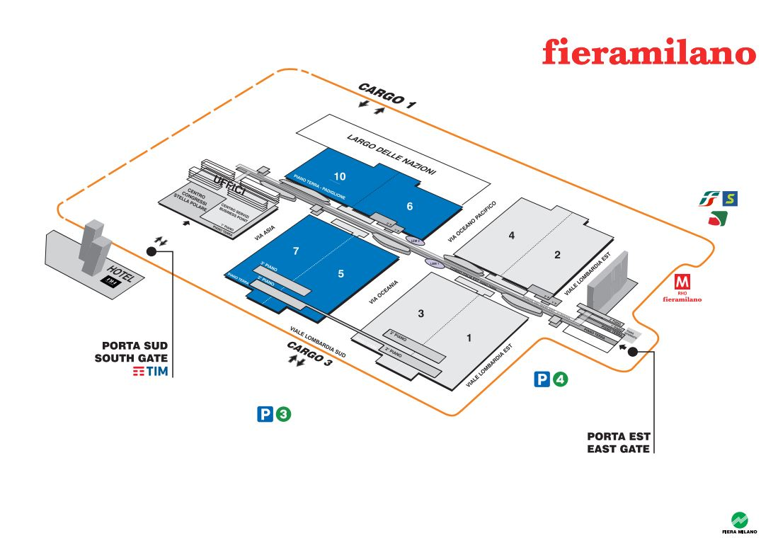 Map of the fair